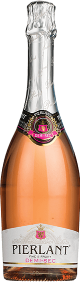 Pierlant French Demi-Sec Sparkling Rose NV