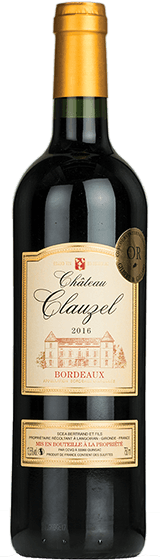 Chateau Clauzel Bordeaux 2016