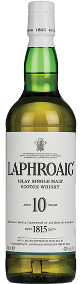 Laphroaig 10 YO Single Malt Whisky (700ml)