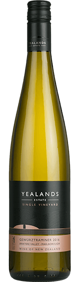 Yealands Estate Single Vineyard Marlborough Gewurztraminer 2016