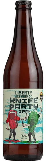 Liberty Knife Party West Coast IPA (500ml)