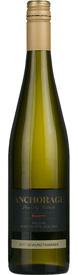 Anchorage Family Estate Nelson Gewurztraminer 2017