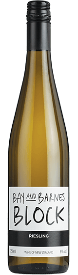 Bay & Barnes NZ Riesling 2018