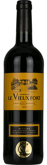 Chateau Le Vieux Fort Cru Bourgeois Medoc 2013
