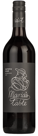 MARIA'S TABLE CURRENCY CREEK SANGIOVESE 2016