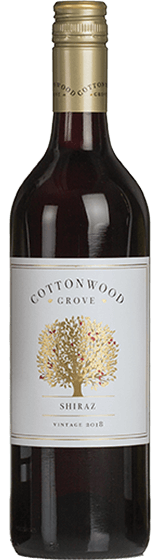 Cottonwood Grove Shiraz 2018
