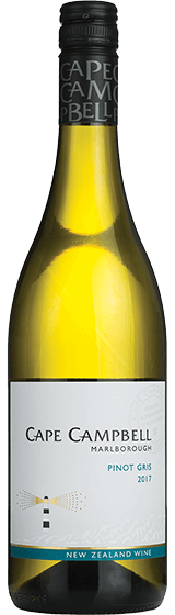 CAPE CAMPBELL MARLBOROUGH PINOT GRIS 2017