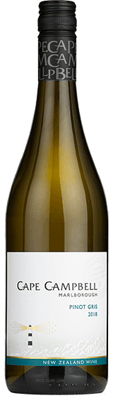 CAPE CAMPBELL MARLBOROUGH PINOT GRIS 2018