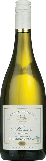 BABICH FAMILY ESTATES HEADWATERS ORGANIC MARLBOROUGH SAUVIGNON BLANC 2017