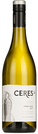Ceres Swansong Central Otago Pinot Gris 2017