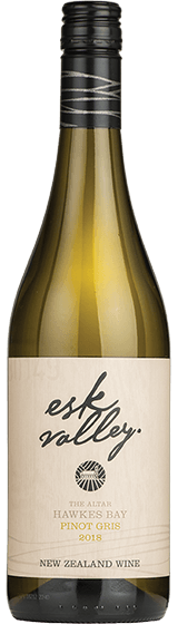 Esk Valley The Altar Hawkes Bay Pinot Gris 2018