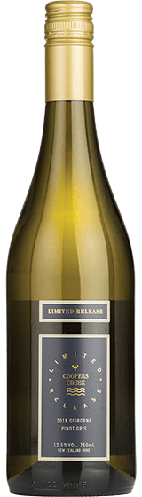 Coopers Creek Limited Release Gisborne Pinot Gris 2018