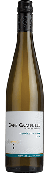 CAPE CAMPBELL MARLBOROUGH GEWURTZTRAMINER 2016
