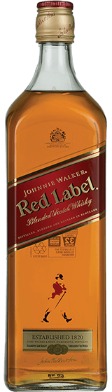 Johnnie Walker Red Label Scotch Whisky (1L)