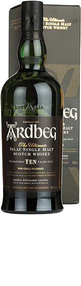 Ardbeg 10 YO Single Malt Scotch Whisky (700ml)