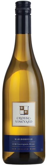 Crosse Vineyard Marlborough Sauvignon Blanc 2018